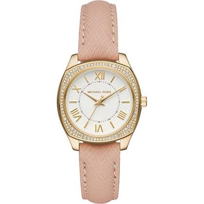 Michael Kors MK2487 Watch Strap Pink Leather