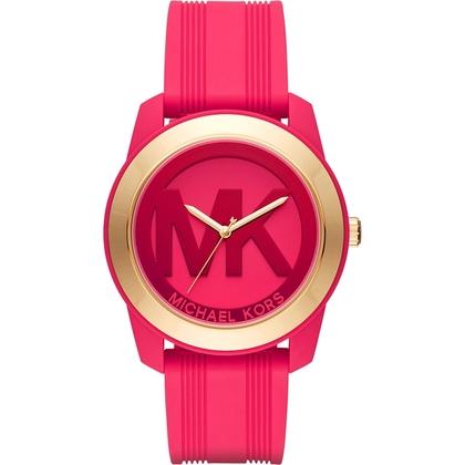 Michael Kors MK2533 Watch Strap Pink Rubber