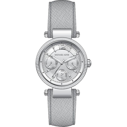 d1f7d42d0aeb Michael Kors MK2503 Watch Strap Grey Leather