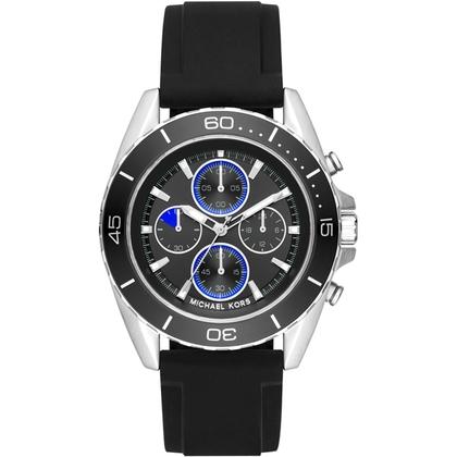 Michael Kors MK8485 Watch Strap Black Rubber