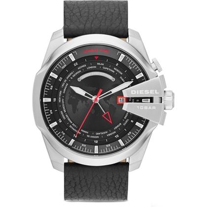 Diesel DZ4320 Watch Strap Black Leather