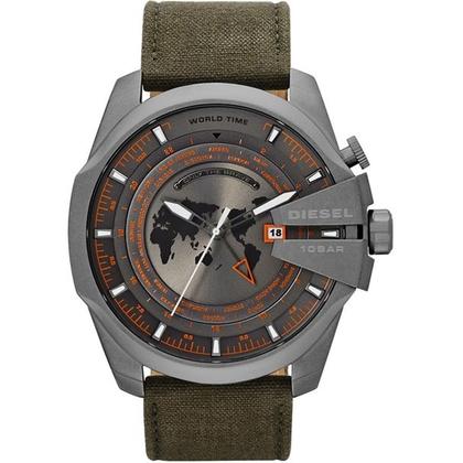 Diesel DZ4307 Watch Strap Green Leather