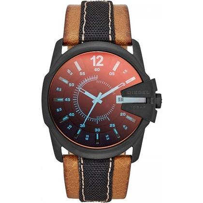 Diesel DZ1600 Watch Strap Brown Leather