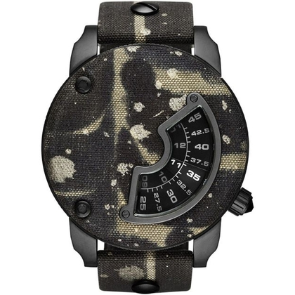 Diesel DZ7388 Watch Strap Camo Leather