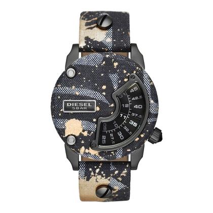 Diesel DZ7389 Watch Strap Camo Leather