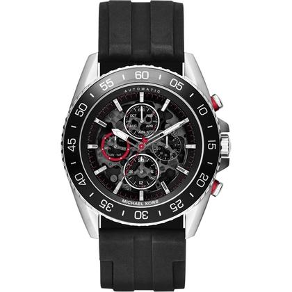 Michael Kors MK9013 Watch Strap Black Rubber