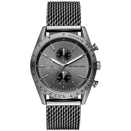 Michael Kors MK8463 Watch Strap Black Mesh (Milanese)