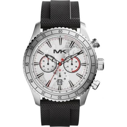Michael Kors MK8353 Watch Strap Black Rubber