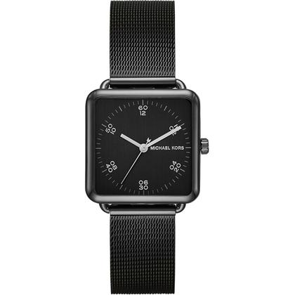 Michael Kors MK8504  Watch Strap Black Mesh (Milanese)