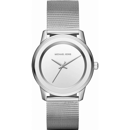 Michael Kors MK6329 Watch Strap Silver Coloured Mesh (Milanese)