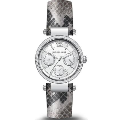 Michael Kors MK2567 Watch Strap Grey Leather