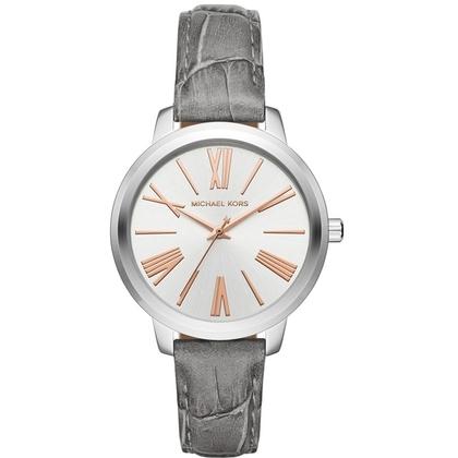 Michael Kors MK2479 Watch Strap Grey Leather