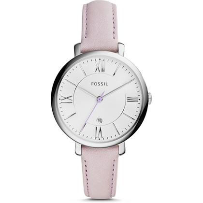 Fossil ES3794 Watch Strap Pink Leather