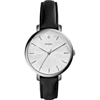 Fossil ES3865 Watch Strap Black Leather