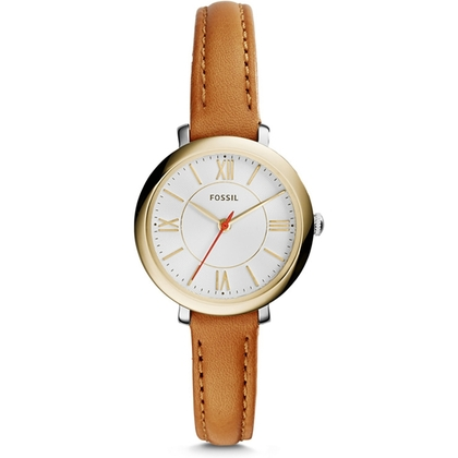 Fossil ES3801 Watch Strap Brown Leather