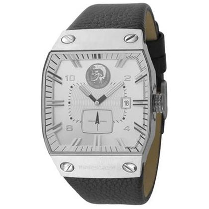 Diesel DZ9036 Watch Strap Black Leather