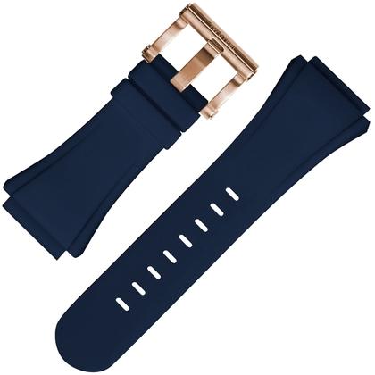 TW Steel Watch Strap CE5011 Blue Rubber 32mm