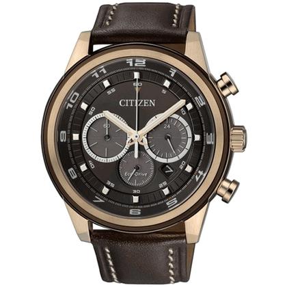 Citizen Eco-Drive Chronograph CA4037-01W Watch Strap 22mm