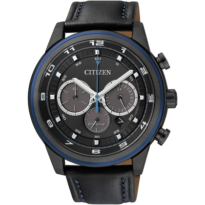 Citizen Eco-Drive Chronograph CA4036-03E Watch Strap 22mm