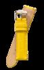 Fromanteel Alligatorgrain Watch Band Yellow