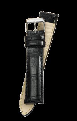 Fromanteel Alligatorgrain Watch Band Black