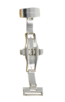 Fromanteel Alligatorgrain Watch Band Rood