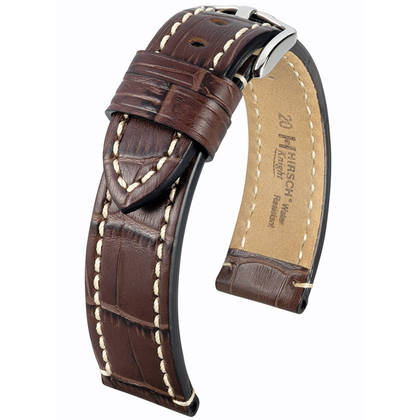 Hirsch Knight Watch Strap Brown