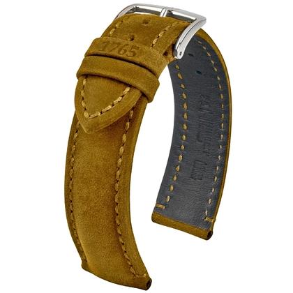 Hirsch Heritage 1765 Artisan Watch Strap Mustard