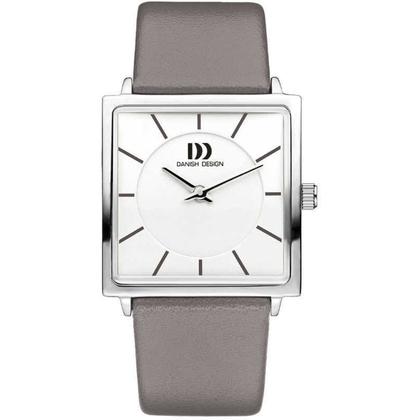 Watch Strap Danish Design IV14Q1058 18mm Gray Leather