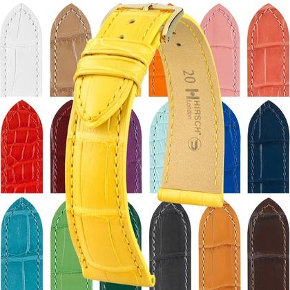 4200a163e Hirsch London Watch Strap Alligator Skin Matte Made to Measure