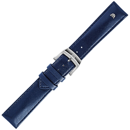 014dda20353d2 Maurice Lacroix Eliros Easychange Watch Strap Calf Skin Blue
