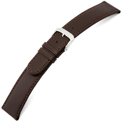 Rios Ecco Watch Strap Cowhide Brown