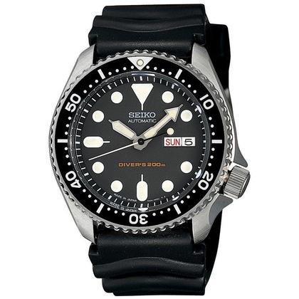 Seiko Diver Z22 Watch Strap SKX007K1 Black Rubber