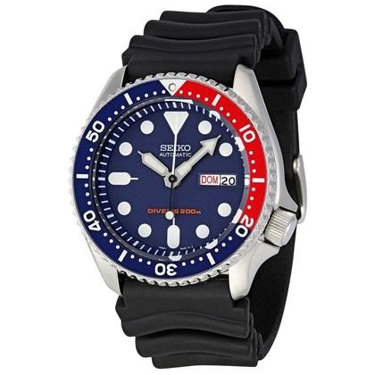 Seiko Diver Z22 Watch Strap SKX009 Black Rubber