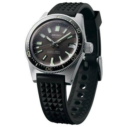 Seiko SLA017 / 62MAS Watch Strap Black Rubber 19mm