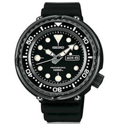 Seiko Prospex Watch Strap SBBN011J Black Rubber