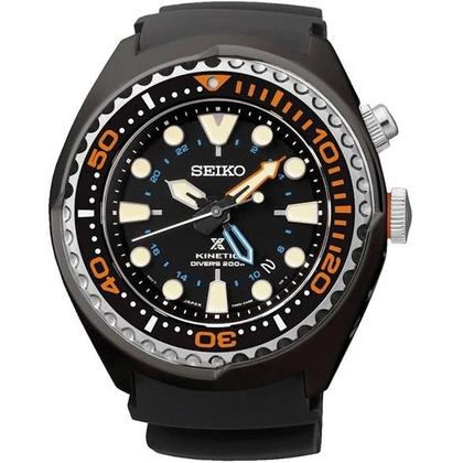 Seiko Prospex Kinetic Watch Strap SUN023 Black Rubber