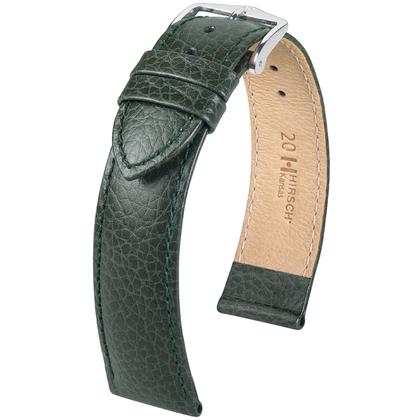 Hirsch Kansas Watchband Buffalograin Green