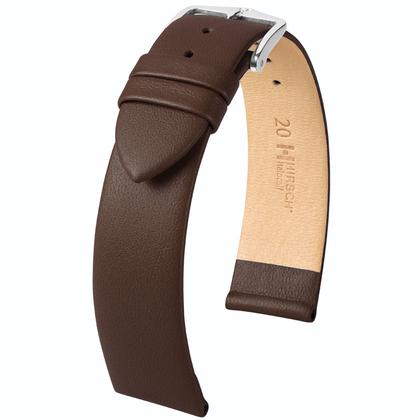 Hirsch Italocalf Watchband Brown