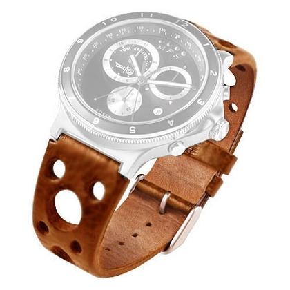 Rosendahl Tom Kristensen MPH Watch Strap Cognac Leather