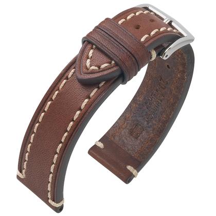 Hirsch Liberty Artisan Watchband Leather Brown