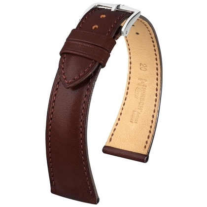 Hirsch Siena Artisan Watch Band Brown