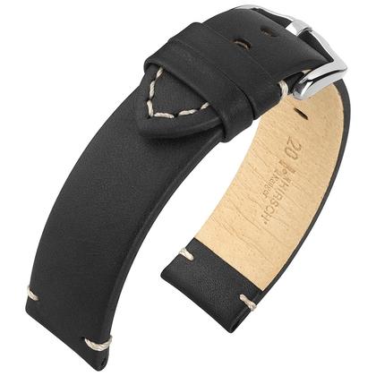 Hirsch Ranger Watch Strap Calf Skin Black