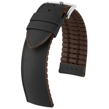Hirsch Arne Performance Collection Black Leather / Brown Rubber