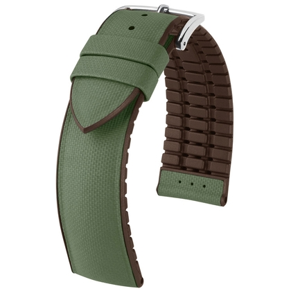 Hirsch Arne Performance Collection Green Leather / Brown Rubber