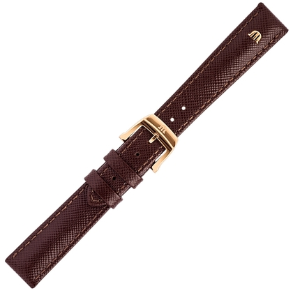 Maurice Lacroix Eliros Easychange Watch Strap Saffiano Brown 16mm