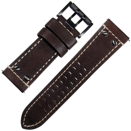 Luminox Atacama Field 1920/1940 Watch Band Dark Brown Leather - FE.1920.72H.80RI