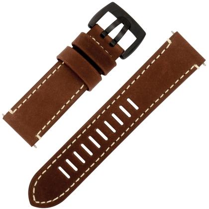 Luminox Field Automatic 1807 Watch Band Brown Leather - FE.1800.70B