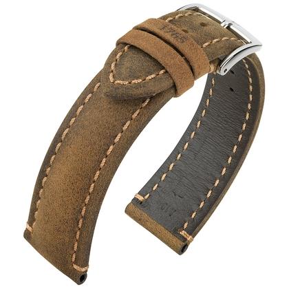 Hirsch Heritage 1765 Artisan Watch Band Brown