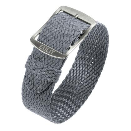 Eulit Perlon Watch Strap Baltic Gray